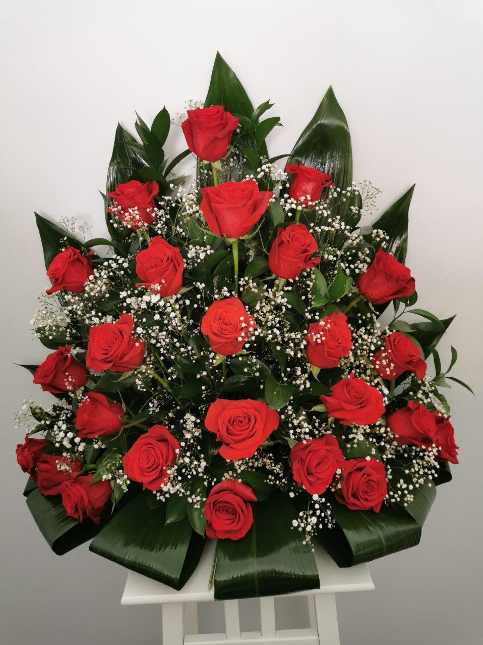 Centro 25 rosas 50